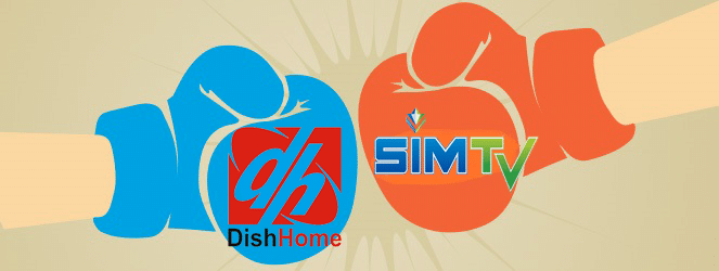 DishTv vs SimTv Nepal