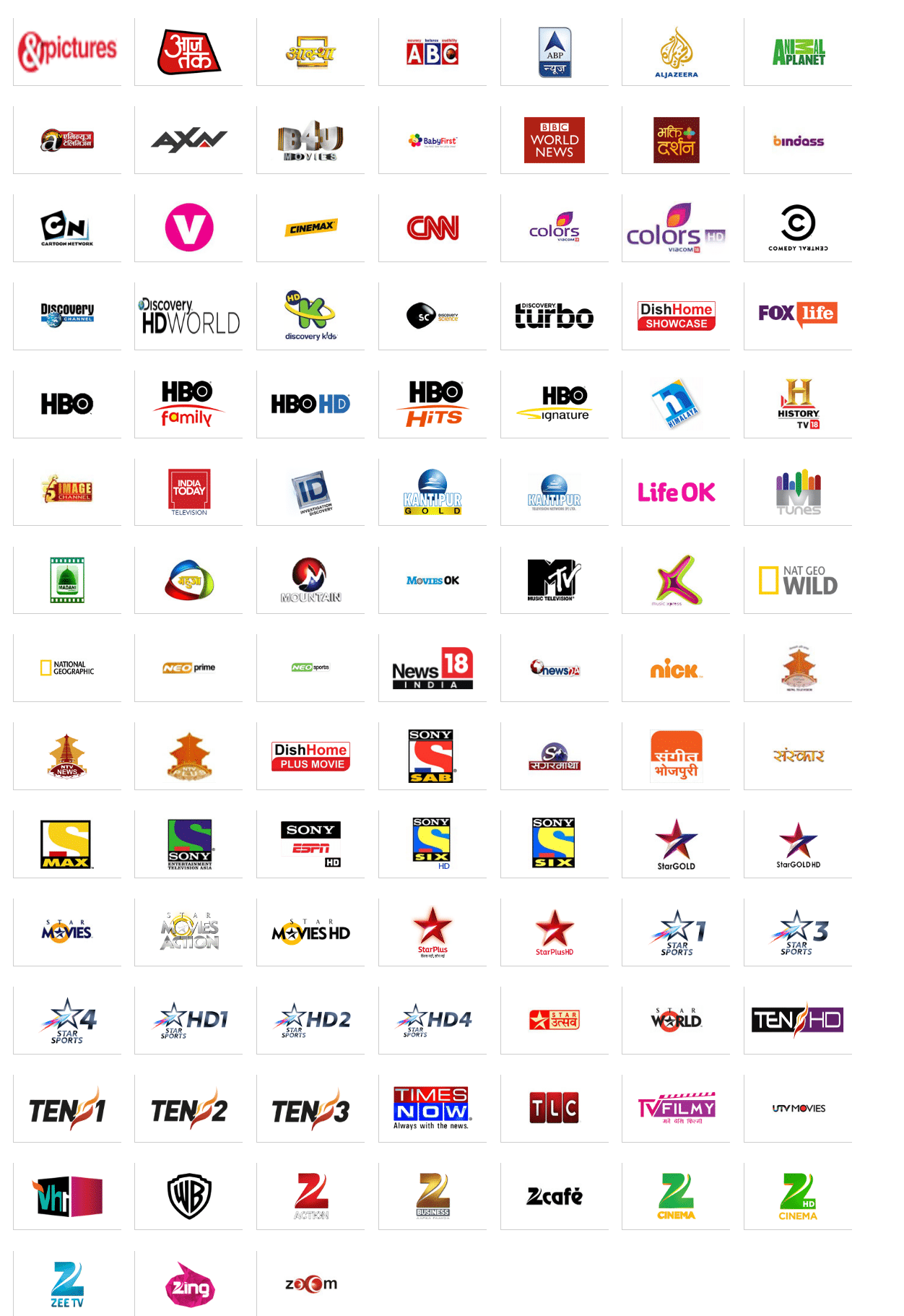 Dish Tv Channel List Images Galleries