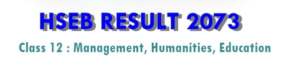 hseb result 2073