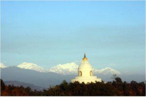 shanti stupa pokhara (place to visit in nepal)
