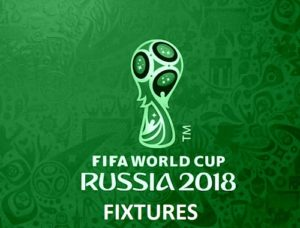 FIFA 2018 Fixture Schedule Time Table Venue