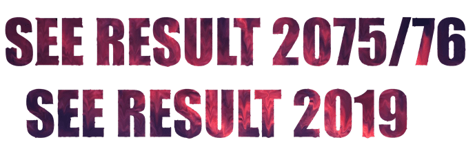 Officially! Check SEE Result 2075 | SEE Result 2076 with