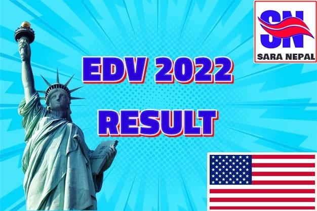 edv result 2022