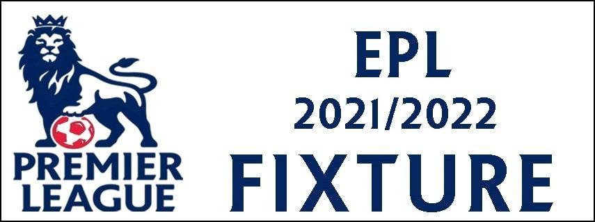 epl fixtures 2021